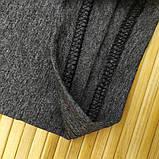 Бриджи женские серые батал 3/4 ALGI tekstil (в ростовке размеры: 58-60-62-64-66-68),20013882, фото 8