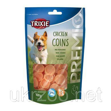 Лакомство для собак Trixie PREMIO Chicken Coins 100 г (курица) 31531