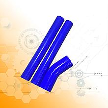 Комплект патрубків радіатора МАЗ-500 3шт. 500-1303025 силікон