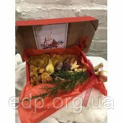 Сухофрукты - Подарочный Микс 9 вкуснейших фруктов - 150 г (манго, персик, инжир, киви, дыня, айва, слива в