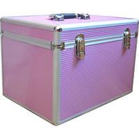 Чемодан алюминиевый 2270 (розовый)