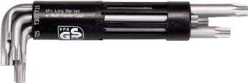Гаечный ключ шестигранный Г - образный 8 шт. T10-T50 151.2300 KS Tools Германия