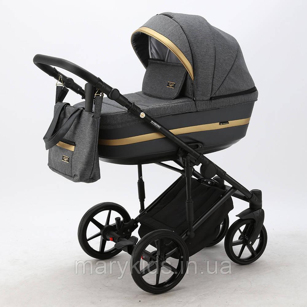 Детская универсальная коляска 2 в 1 Adamex Rimini Tip RI-97