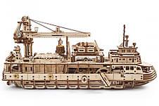 Механические 3D пазлы UGEARS - «Научно-исследовательское судно», фото 2