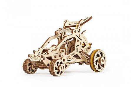 Механические 3D пазлы UGEARS - «Мини Багги», фото 2