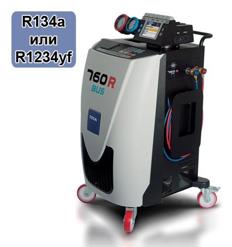 760R BUS TEXA Оборудование для заправки автокондиционеров фреоном R134a или R1234yf Konfort