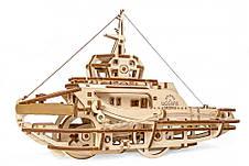 Механические 3D пазлы UGEARS - «Буксир», фото 3