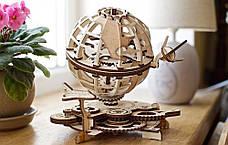Механические 3D пазлы UGEARS - «Глобус», фото 2