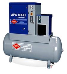 Роторный компрессор APS Maxi Combi Dry 7.5 / 10 500 V400 ST , с осушителем, и ресивером, 500л AIRPRESS