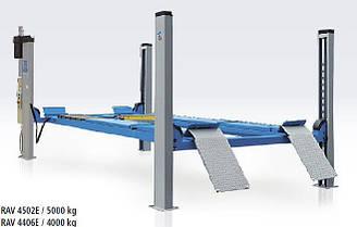 Подъемник 4-х стоечный электрогидравлический на 5 т. RAVAGLIOLI  Италия