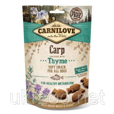 Лакомство для собак Carnilove Carp with Thyme 200 г (рыба) 111374