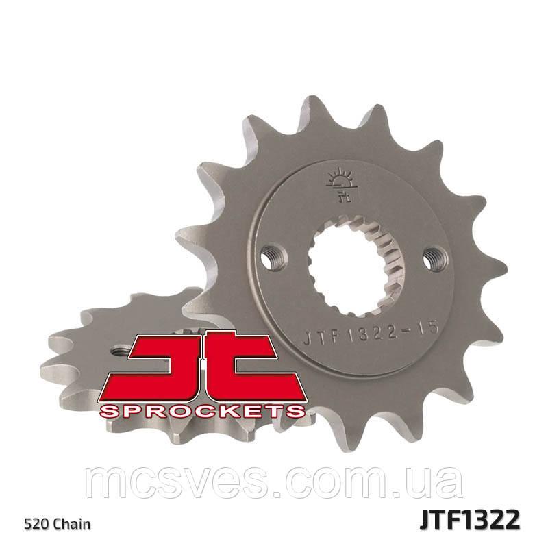 Зірка сталева передня JT Sprockets JT JTF1322.15