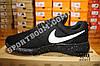 Кроссовки Nike Roshe Run Black White Черные женские, фото 3