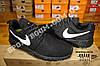 Кроссовки Nike Roshe Run Black White Черные женские, фото 5