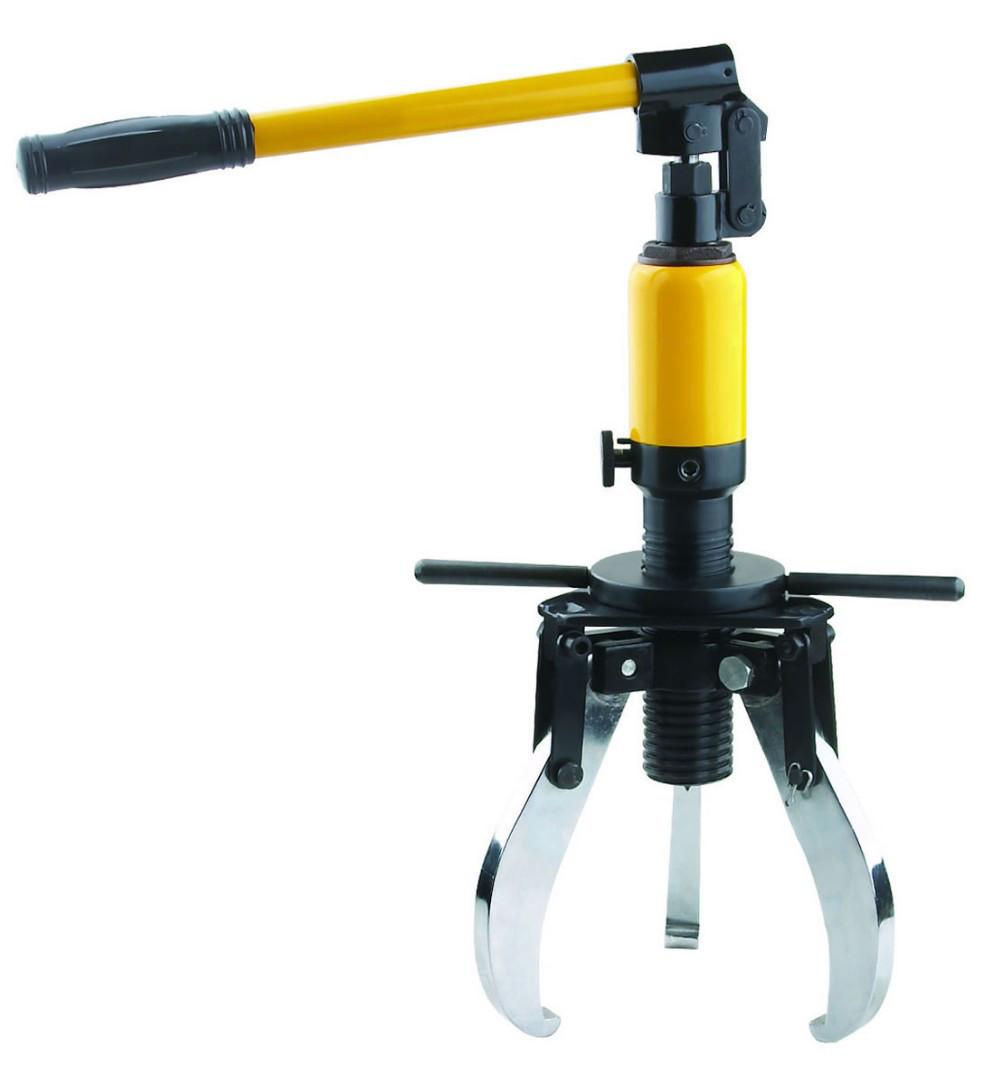 Съемник гидравлический со встроенным приводом и фиксацией лап 20 т. 3СГА20-420