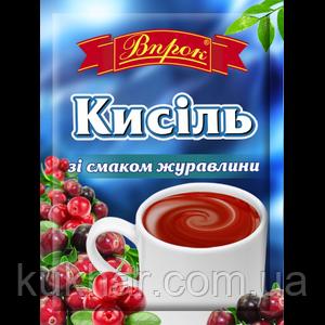 """Кисіль """"Журавлина"""" 65г"""