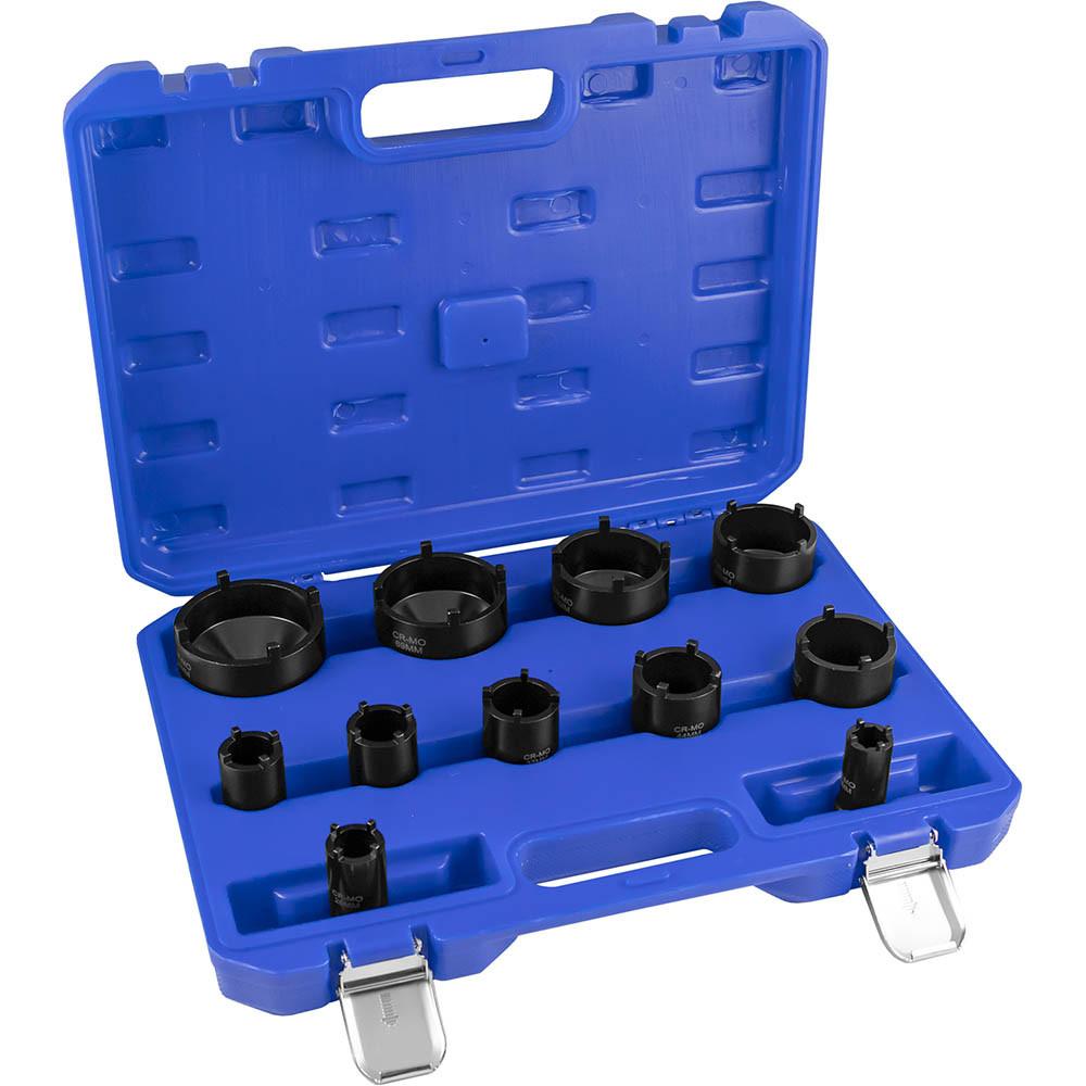 Набор головок для шлицевых гаек 11 пр. JBM 52834