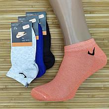Жіночі шкарпетки літні сітка короткі SPORT N Туреччина p.37-39 кольорове асорті, 20014773