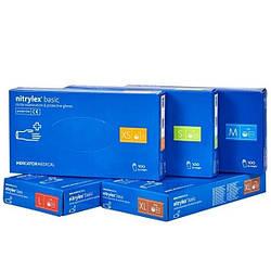 NITRYLEX BASIC одноразовые нитриловые перчатки (200шт.) размер XS