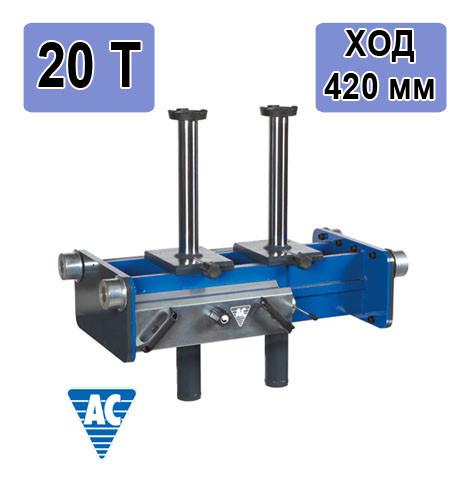 Пневмогидравлический ямный подъемник с двумя цилиндрами GD200-2 AC Hydraulic