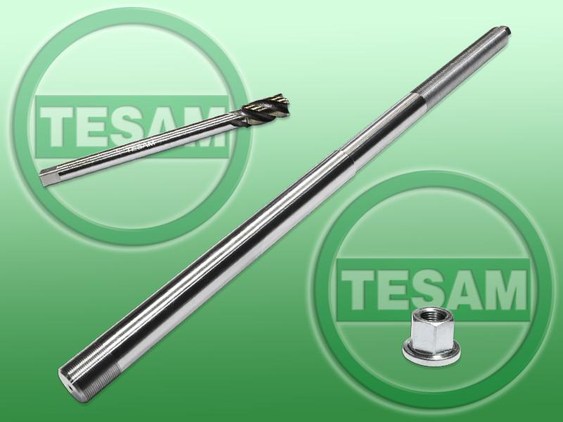 Набор из метчика и шпильки M17x0.75 для извлечения обломанной форсунки Tesam (S0000805)