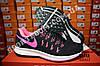 Кроссовки Nike Zoom Pegasus 33 Black Pink Черные женские, фото 7