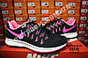 Кроссовки Nike Zoom Pegasus 33 Black Pink Черные женские, фото 8