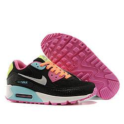 Кроссовки Nike Air Max 90 Black Color Черные женские