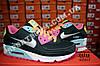 Кроссовки Nike Air Max 90 Black Color Черные женские, фото 3