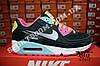 Кроссовки Nike Air Max 90 Black Color Черные женские, фото 4