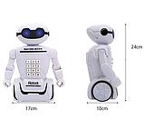 Электронная копилка робот с кодовым замком Robot Piggy Bank со светильником, фото 2