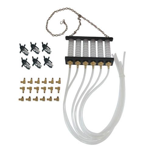 Тестер обратки для COMMON RAIL с адаптерами. A2252 H.C.B.