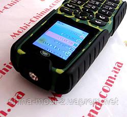 Тактический телефон LAND ROVER XP3300 - 2 Sim, 12000 mAh power bank, фото 2