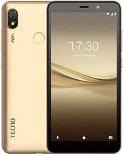 """Смартфон Tecno POP 3 5,7"""" 1/16Gb со сканером отпечатков пальцев золотистый"""