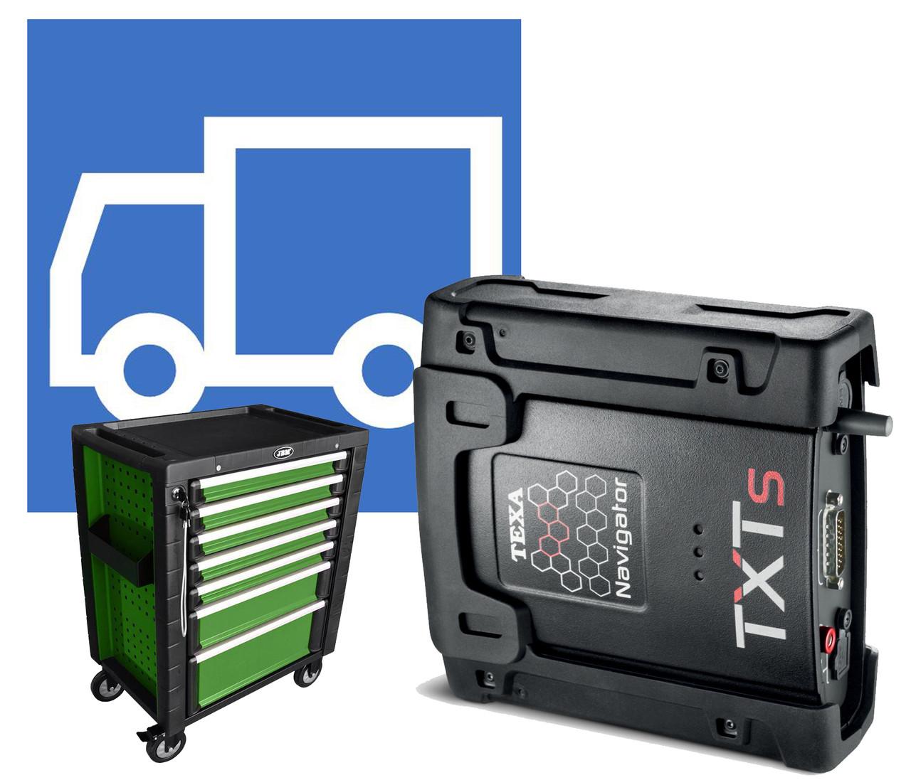 NAVIGATOR TXTs TRUCK для грузовиков, прицепов и автобусов.