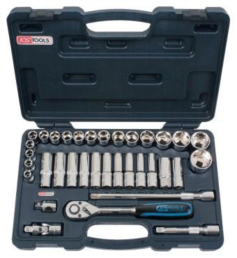 Профессиональные инструменты для СТО в наборе, количество инструментов 35 , 1/2  918.0635  KS Tools Германия