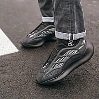Мужские кроссовки Adidas Yeezy Boost 700 V3 Black / Адидас Изи Буст 700 В3 Черные