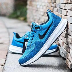 Кроссовки Nike Zoom Blue Синие мужские реплика