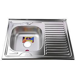 Мойка кухонная Mira MR 8060 L D Decor Left