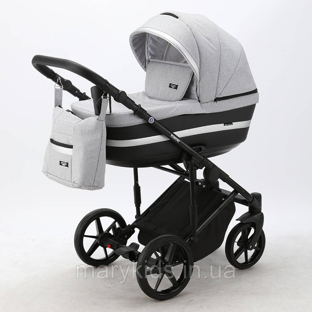Детская универсальная коляска 2 в 1 Adamex Rimini Lux RI-13