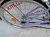 Городской велосипед Hahn 22 колеса. Простой классической велосипед, фото 5