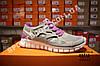 Кроссовки Nike Free Run 2.0 Gray Violet Серые женские, фото 3