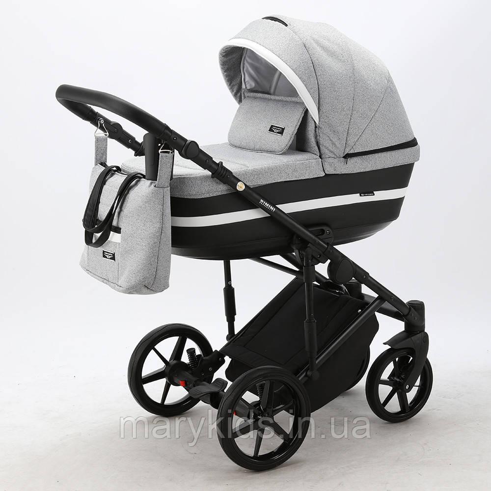 Детская универсальная коляска 2 в 1 Adamex Rimini Lux RI-32