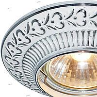 Встраиваемый светильник Feron DL6240 белый серебро, фото 1