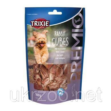 Лакомство для собак Trixie PREMIO Rabbit Cubes 100 г (кролик) 31545