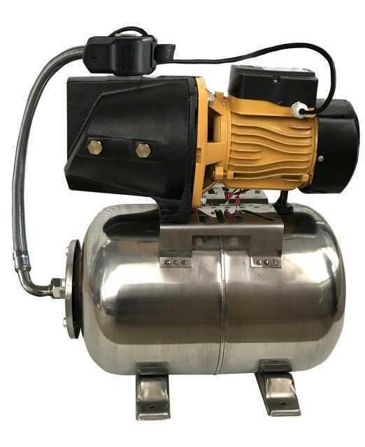 Насосна станція Optima JET100-PL-24INOX 1,1 кВт чавун довгий на гребінці