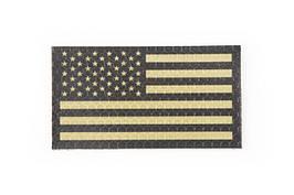 Naszywka IR - Flaga USA lewa - tan [Combat-ID](для страйкбола)