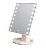 Зеркало с диодами, Зеркало с LED подсветкой прямоугольное, Настольное зеркало для макияжа, фото 3