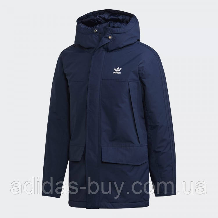 Парка мужская adidas Originals зимняя куртка оригинал синяя