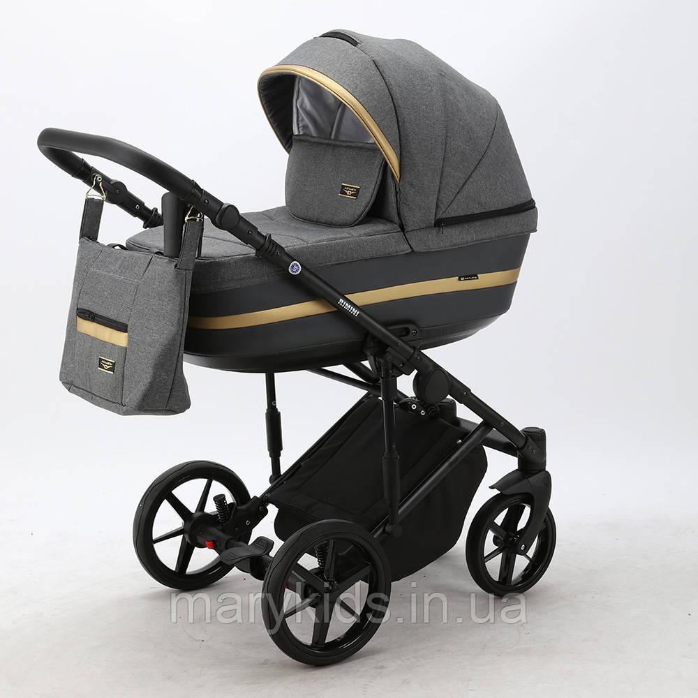 Детская универсальная коляска 2 в 1 Adamex Rimini Lux RI-7